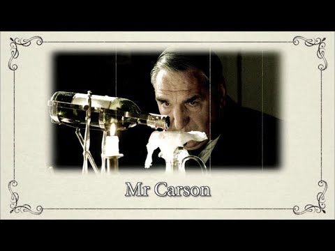 Character Documentaries: Mr. Carson || Downton Abbey Special Features Bonus Video