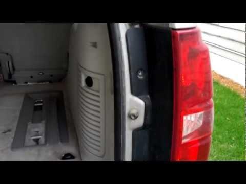 chevy tahoe lift gate not opening | FunnyDog.TV