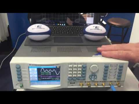 Astronics Test Systems at IMS 2017  Tabor's SE5082, 5G waveforms demo