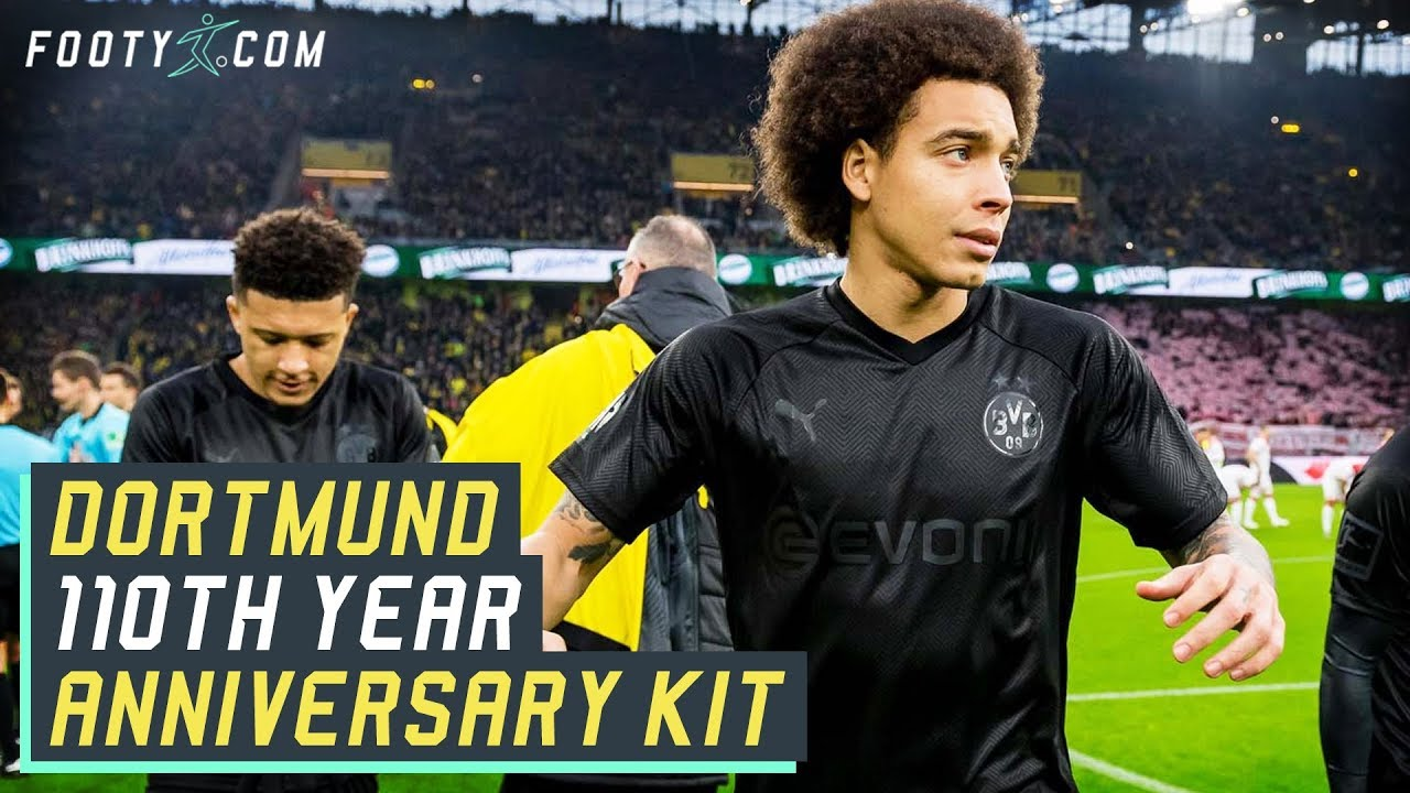 Borussia Dortmund 110th Anniversary Blackout Puma Shirt Kit Review Youtube