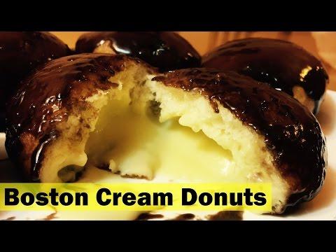 The Best Boston Cream Donuts