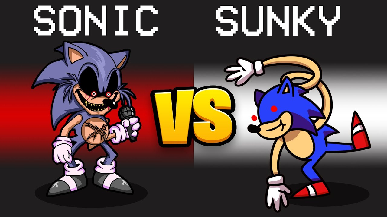 Download SONIC.EXE VS. SUNKY Mod in Among Us...