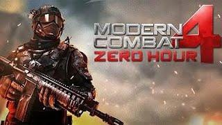 Modern Combat Zero Hour 4 Missão 2 Live Moto G5