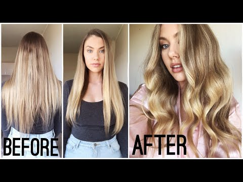 3 MONTH HAIR TRANSFORMATION - How I Grew My Hair