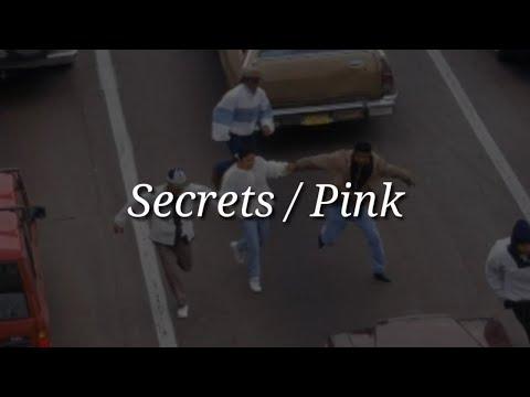 Pink - Secrets (Lyrics)