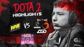 NAVI Dota2 Highlights vs LGD, Ehome, TNC, Infamous @ MDL Macau