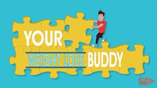 Weight Loss Buddy | 2D Explainer Video (Part 1)