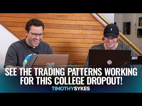 See the Trading Patterns Working for This College Dropout!