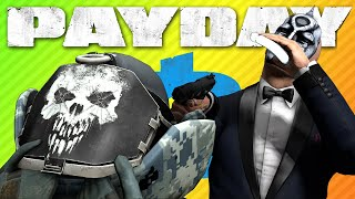 HUMAN ROCK BASICALLY TOO DRUNK TO DIE | Payday 2 Stoic Perk Deck
