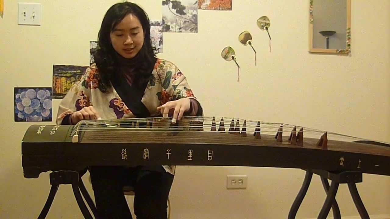 古箏 (Guzheng, Chinese Zither)-人算什麼 (詩歌, Hymn) - YouTube