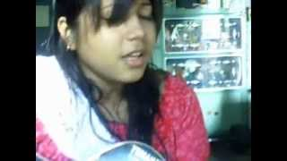 Sayiaan slow(bor asbe ekhuni) Acoustic cover by priyanka.wmv.flv