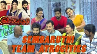 Sembaruthi Serial Family | Behind The Scenes | Just For Laughs !