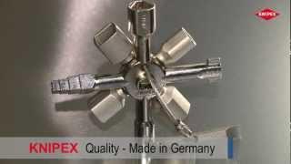 Knipex TwinKey (Deutsch)(Der TwinKey im KNIPEX-Online-Katalog: http://bit.ly/16LsUHC 10 Profile. 2 Kreuze. 1 Schlüssel. Für alle gängigen Schließsysteme und Größen. KNIPEX im ..., 2012-04-19T13:33:33.000Z)