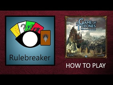 How To Play A Game Of Thrones: The Board Game (Second Edition)