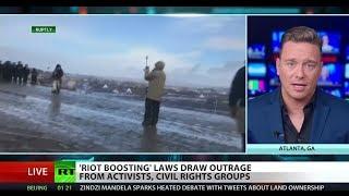 South Dakota 'riot-boosting' law sparks outrage