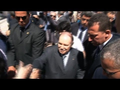 Bouteflika aims for a fourth term in Algerian election