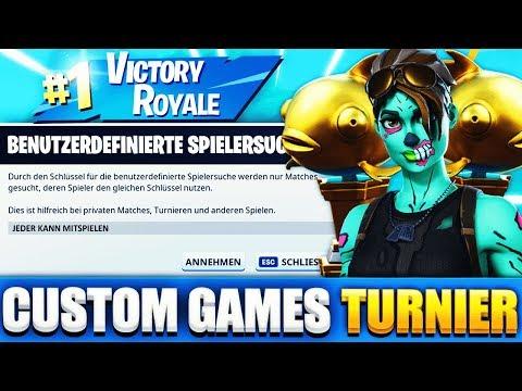 CUSTOM GAMES MIT EUCH! 😱 JEDER KANN MITSPIELEN 🔥 Fortnite Kapitel 2 deutsch