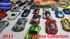 Hot Wheels Exotics Collection (2017 update)