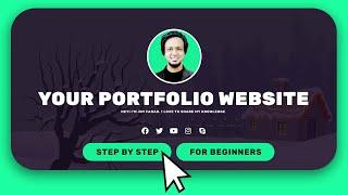 [Easy Steps] How to Make a Personal Portfolio / Resume Website 2020 | Wordpress Elementor Tutorial