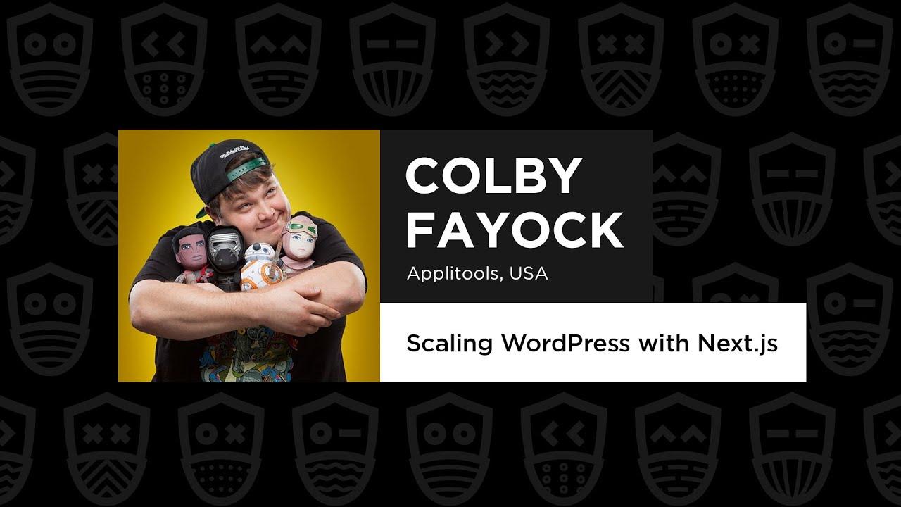 Scaling WordPress with Next.js