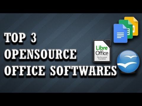Top 3 Open Source Office Alternatives!!
