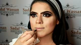 double crease flawless bridal makeover