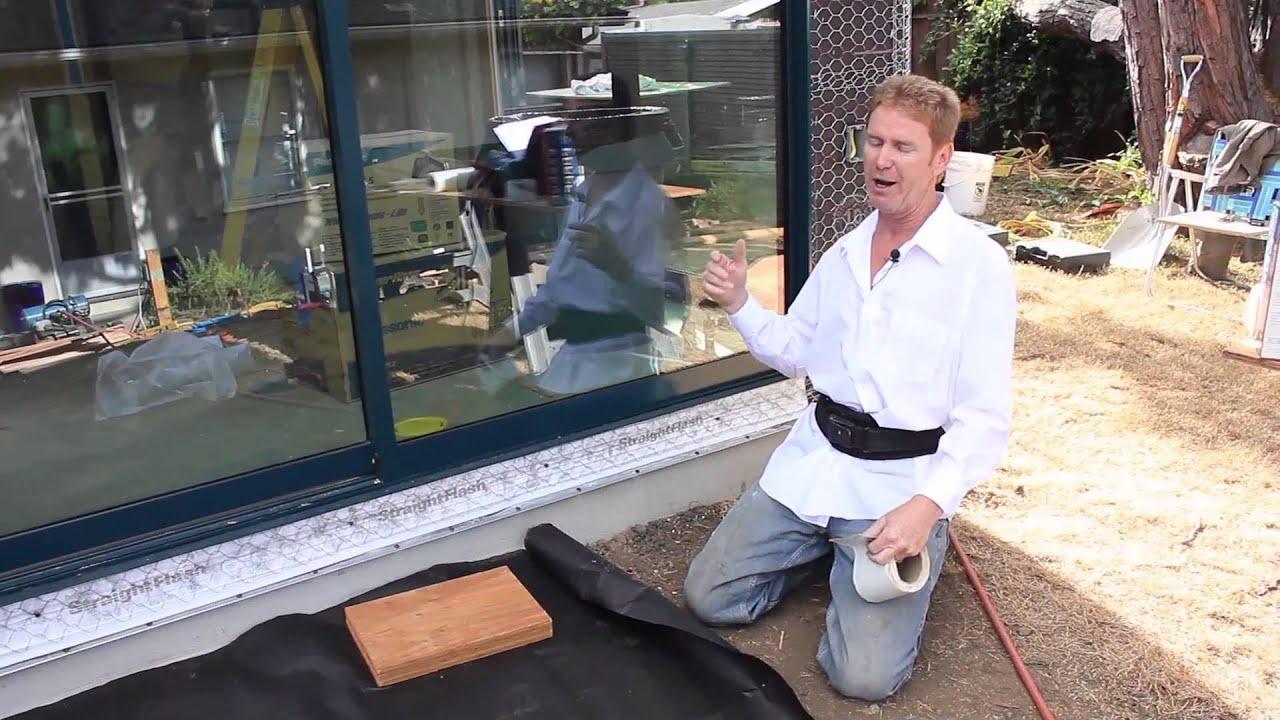 Waterproofing New Sliding Glass Door Membranes That Are