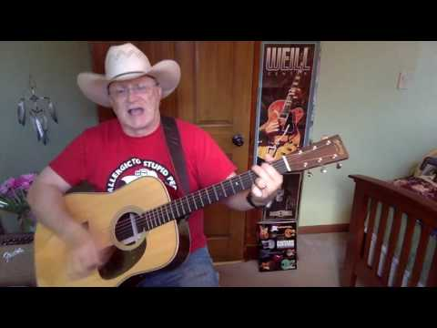 1687b  - The Good Stuff -  Kenny Chesney vocal & acoustic guitar cover & chords
