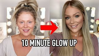 10 MINUTE EVERYDAY MAĶEUP TRANSFORMATION | GET READY WITH ME