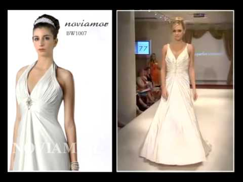 How to choose a wedding dress fits for large bust youtube for Wedding dresses for big busted women