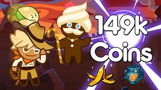 Cookie Run Line Adventurer Coin Farming 149,068 Coins
