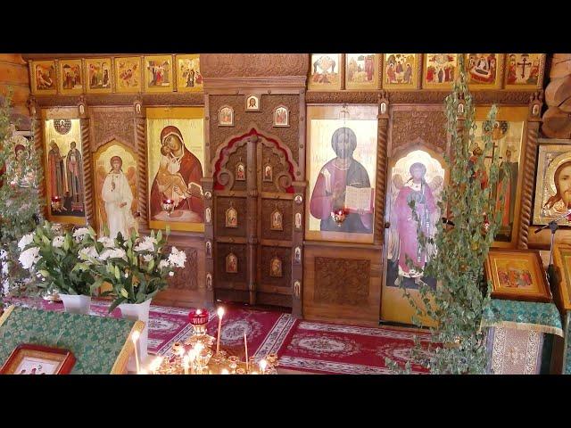 Пятидесятница. День Пресвятой Троицы. Литургия