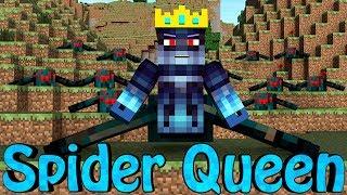 Minecraft | SPIDER QUEEN MOD Showcase! (Spider Army, Spider World, Spider King)