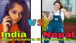 India vs nepal   tik tok videos  2019 special