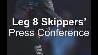 Skippers' Leg 8 Start Press Conference – Itajaí | Volvo Ocean Race
