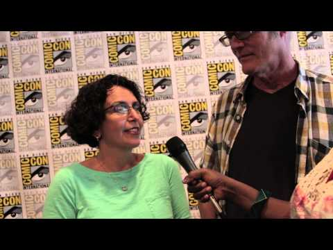 Geeking Out: Comic Con Interview w/Galyn Susman & Steve Purcell Toy Story That Time Forgot