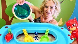 Pyjamahelden Spielzeug - Die PJ Masks bekommen einen Sandkasten