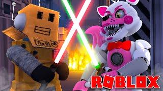 ROBLOX FNAF LIGHTSABER DUEL! JEDI VS SITH!