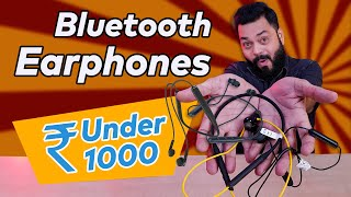 Top 5 Best Wireless Bluetooth Earphones Under 1000 Nov 2020