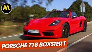 Porsche 718 Boxster T : la plus pure de toutes les Porsche ?