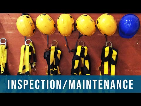 Inspection And Maintenance Of Fall Protection Equipment | Safety, Hazards, Training, Oregon OSHA