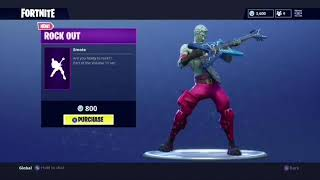 *NEW* Fortnite Rock Out Dance Emote [Bass Boosted]