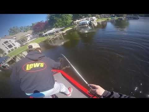 June 12, 2020... Bass Fishing Portage Lake(chain) In Lakeland Michigan!