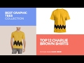 Top 12 Charlie Brown Shirts // Best Graphic Tees Collection