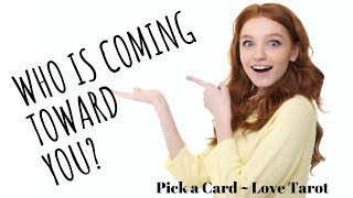Who is coming toward you? Next 30 days Pick a Card