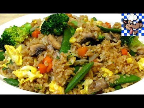 How to make Fried Rice Vegetable Fried Rice Chinese Recipe