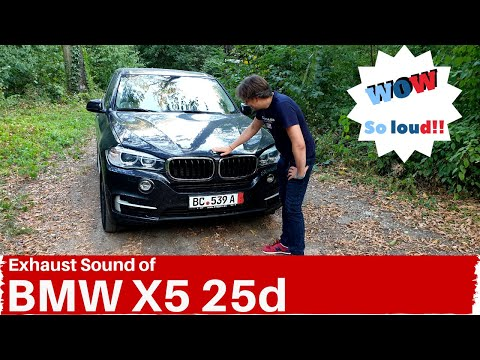 BMW X5 25d Exhaust Sound