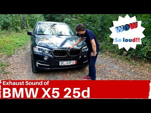 BMW X5 25d Exhaust Sound