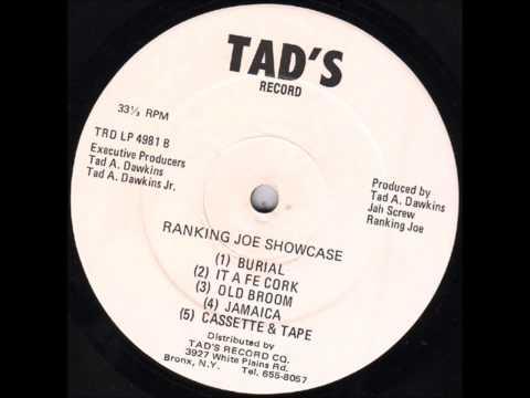 "Ranking Joe ""Showcase"" Full Album Tad's 1981 Reggae"