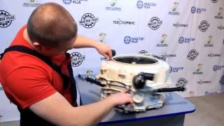 Замена подшипников в стиральной машине Indesit с клееным баком(Подробный видео урок по замене подшипников и сальника в стиральной машине Indesit c клееным (паяным) баком...., 2015-01-31T11:55:57.000Z)